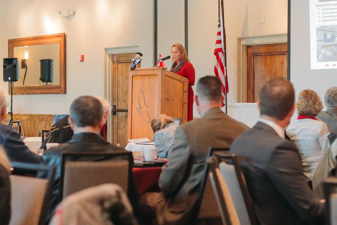 Susan Talarico Speaking